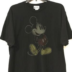 Disney Parks Mickey Mouse Tee Vintage Mickey Image